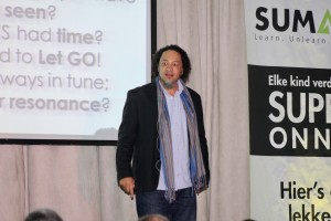 The charismatic Dr Gillian Arendse busy with his session called So what's you game plan?